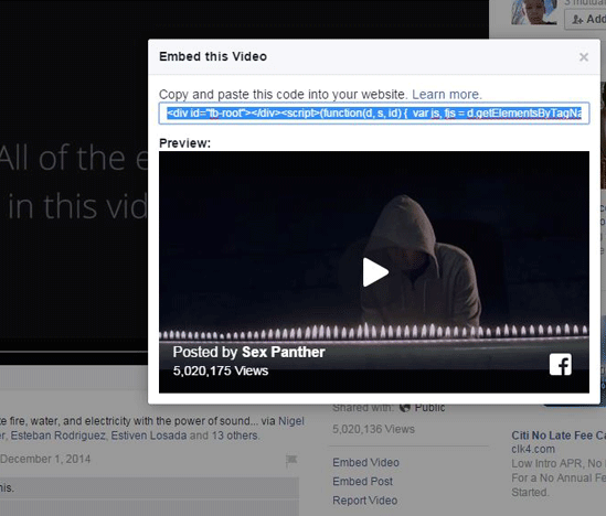 facebook-video-to-website -